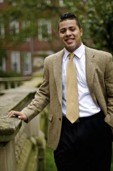 Alexander Diaz will study law with an eye on disparities in the system.